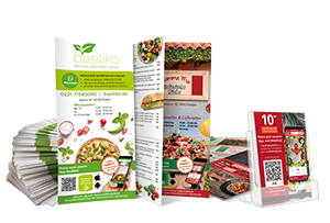 Marketing-Paket Speisekarte order smart