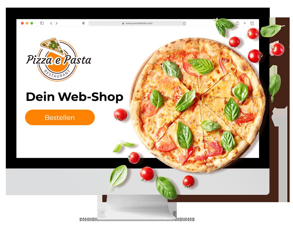 Web-Shop-order smart für lieferdienste