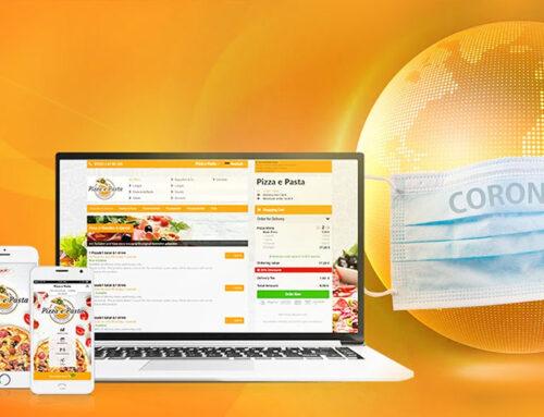 Lieferdienstmöglichkeit für Restaurants in Zeiten von Corona