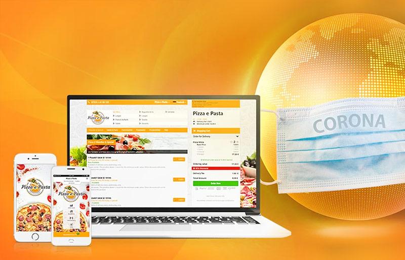 Lieferdienstmöglichkeit für Restaurants in Zeiten von Corona order smart