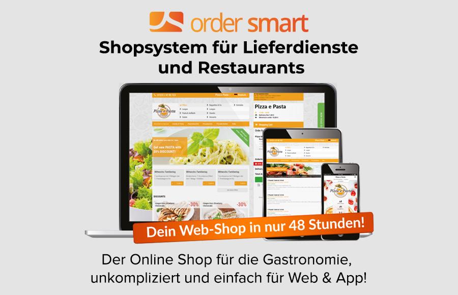app shop ordersmart für lieferservices
