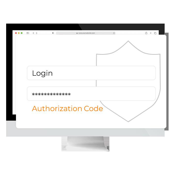 Authorization-Code order smart für lieferservices
