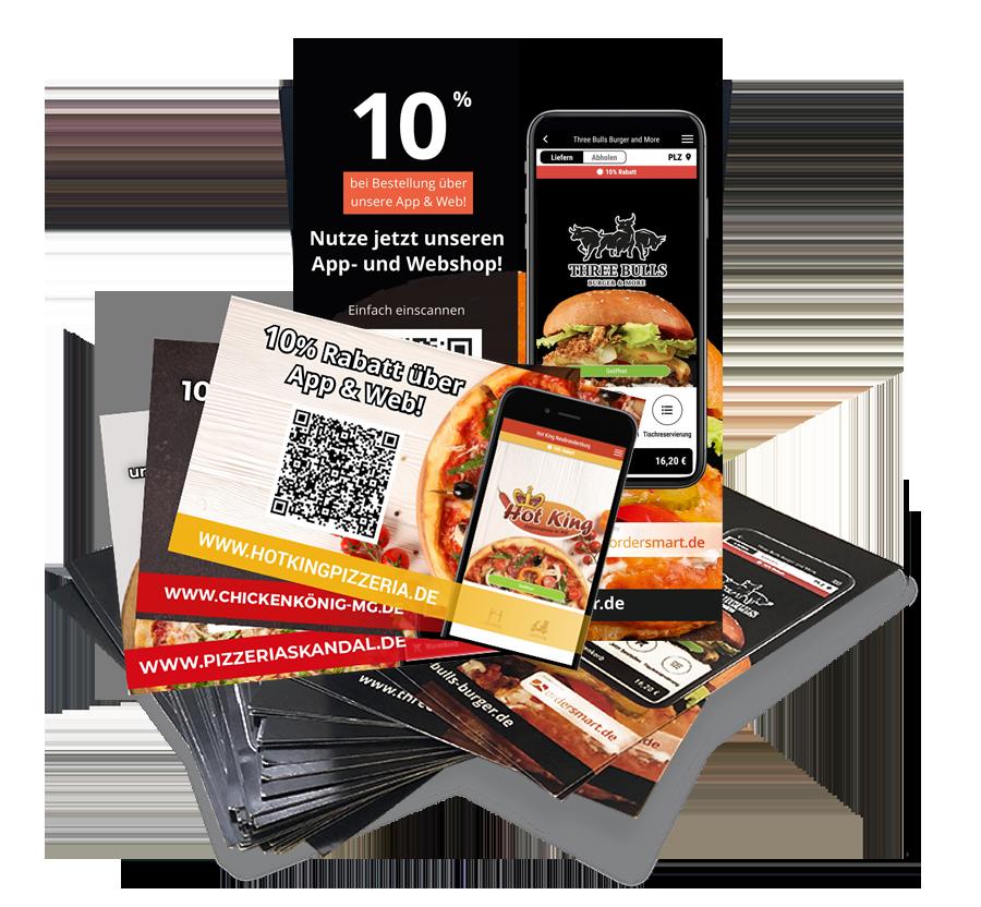 app-shop ordersmart werbematerial