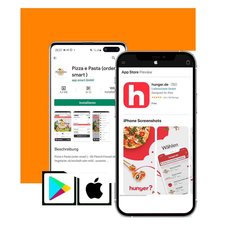 App-Shop order smart für lieferservices