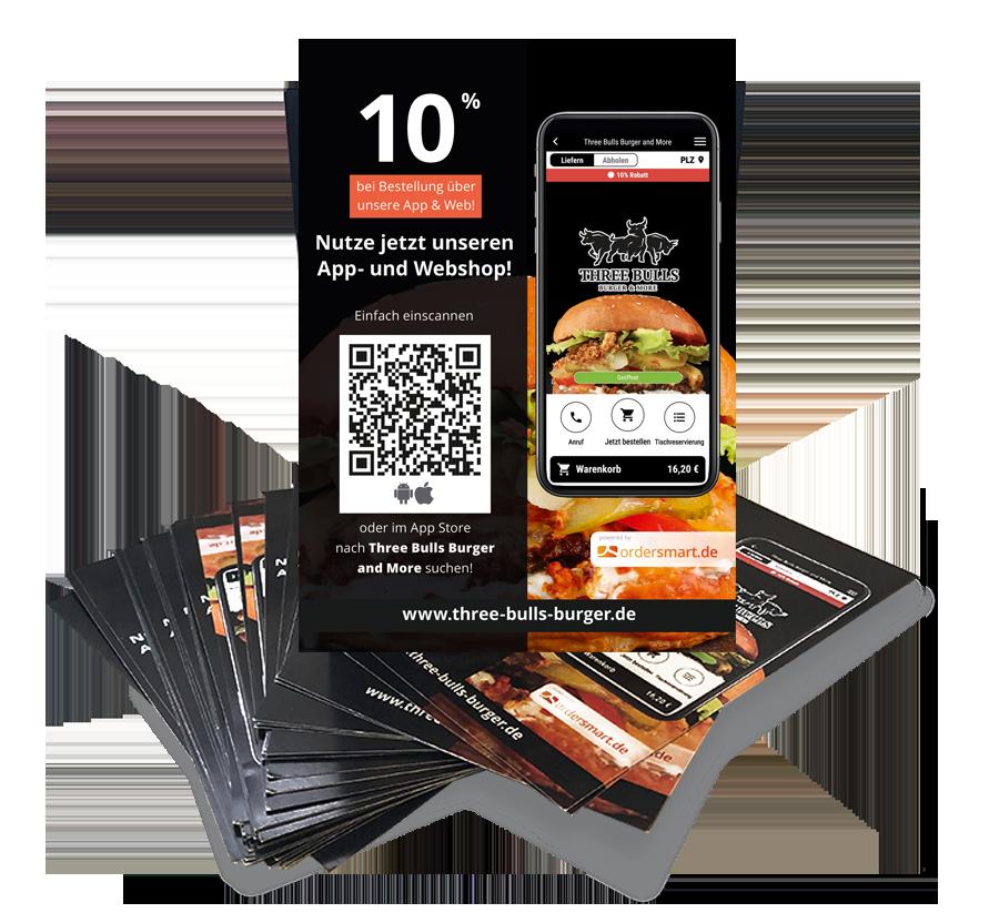 Flyer order smart für lieferservices