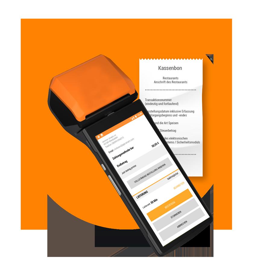 Ordermanager order smart für lieferservices