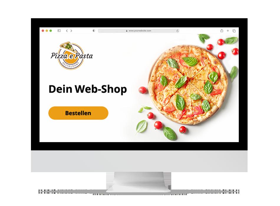 web-shop order smart für lieferservices