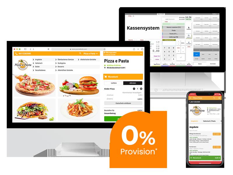 App and Web-Shop order smart für lieferservices