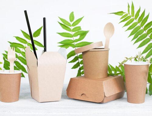 Nachhaltige Verpackungen für Lebensmittel bei Lieferdiensten