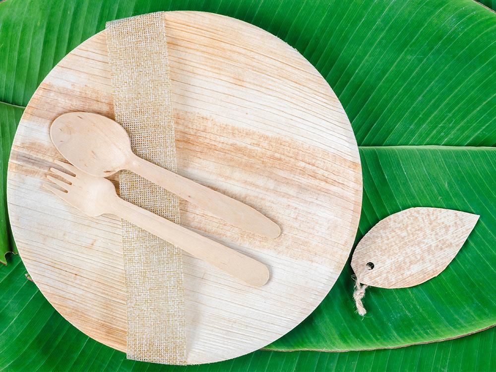 Verpackung Palmblatt order smart