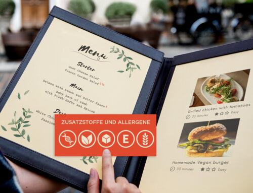 Kennzeichnung von Zusatzstoffen und Allergenen: Pflicht in jeder Speisekarte